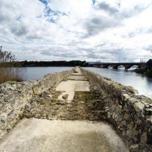 Laguna di Calich Ponte Romano