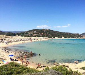 Spiaggia Campana (Chia)