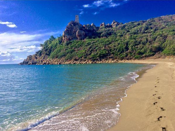 Spiaggia di torre salinas my sardinia - Torre specchia spiaggia ...