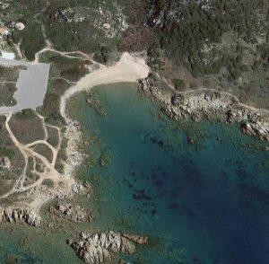 Spiaggia di Cala Blu o Lu Capitanu