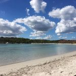 Spiaggia ovest di Baia Salinedda