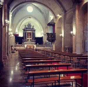 Cattedrale di Sant'Antonio Abate (interno)